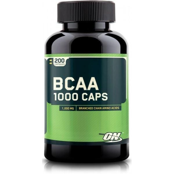 Mega-Size BCAA 1000 CAPS (Optimum Nutrition) 200 капсул