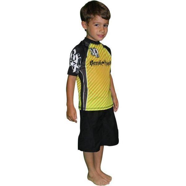 Детский рашгард Break Point Yellow