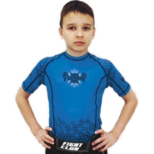 Детский рашгард Flamma blue
