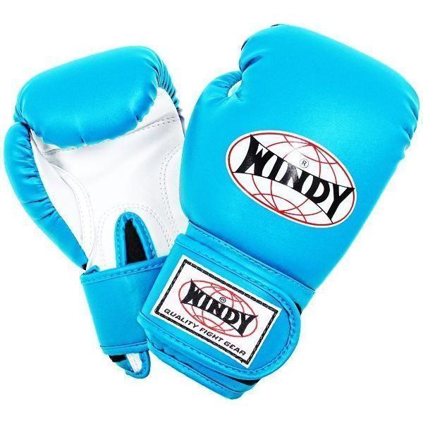 Детские боксерские перчатки Windy BGC BLUE-WHITE