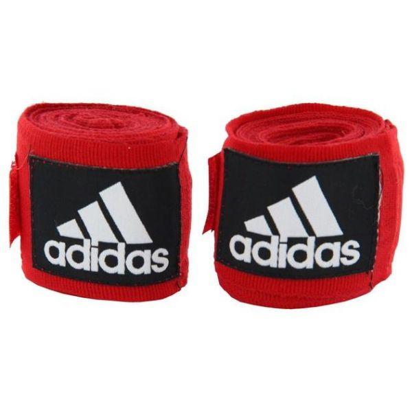 Бинты эластичные Adidas AIBA New Rules Boxing Crepe Bandage красные