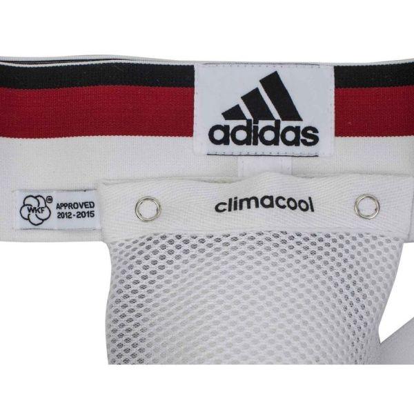 Защита паха мужская Adidas Official WKF Mens Groin Guard белая