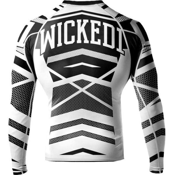 Рашгард Wicked One Stern black - white