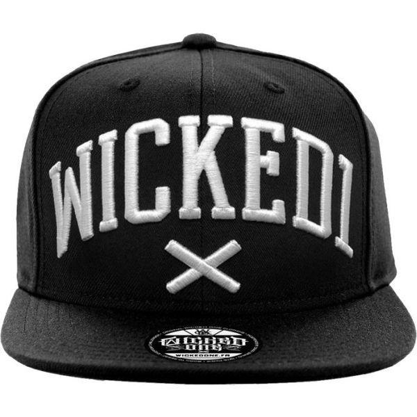 Бейсболка (снэпбэк) Wicked One Menace black