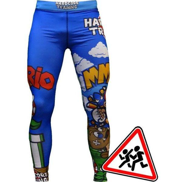 Детские компрессионные штаны Hardcore Training MMArio
