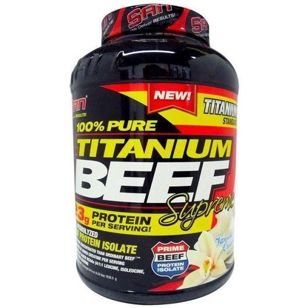 Говяжий протеин SAN Titanium Beef Supreme 1,8 кг