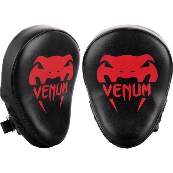 Тренерские лапы Venum Light Black/Red