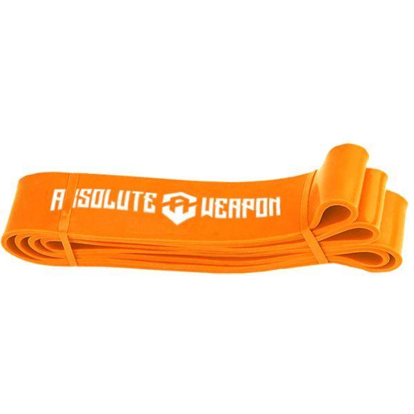 Оранжевая резиновая петля Absolute Weapon (до 80 кг), 86 мм