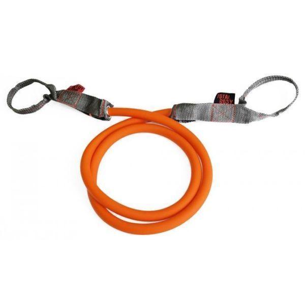 Эспандер трубчатый TOTAL BODY (латекс) оранжевый 22,6 кг