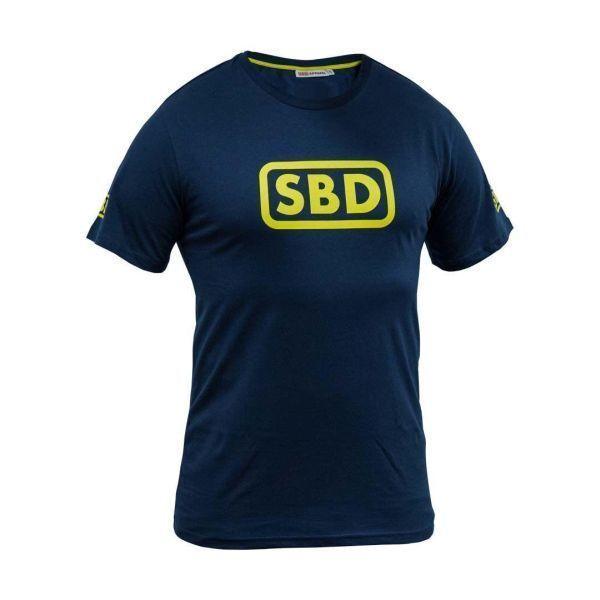 Женская футболка SBD (летняя серия) - черный/желтый