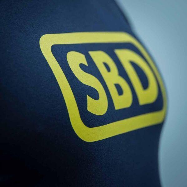 Футболка SBD (летняя серия) - черный/желтый