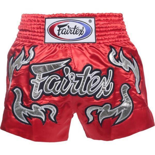Шорты для тайского бокса Fairtex Red
