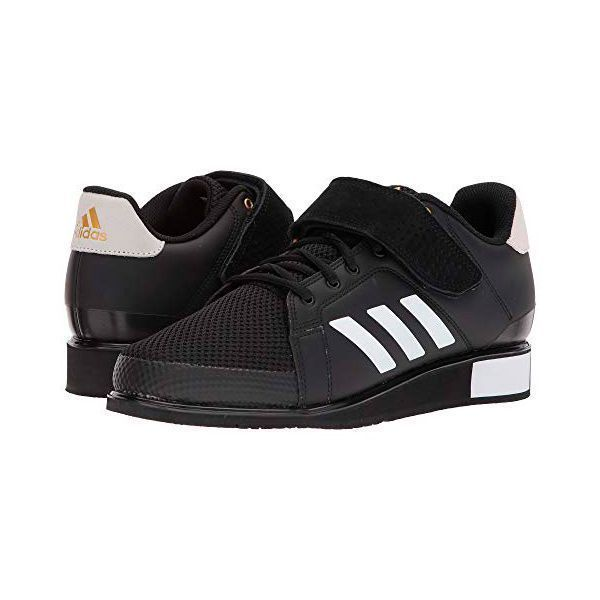 competitive price 7986e 48d0e Штангетки Adidas Power Perfect 3 - core black   ftwr white   matte gold