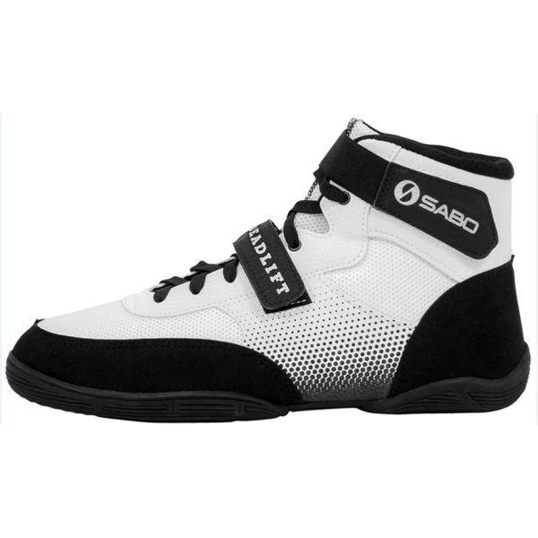 Ботинки для становой тяги САБО Дэдлифт - белые