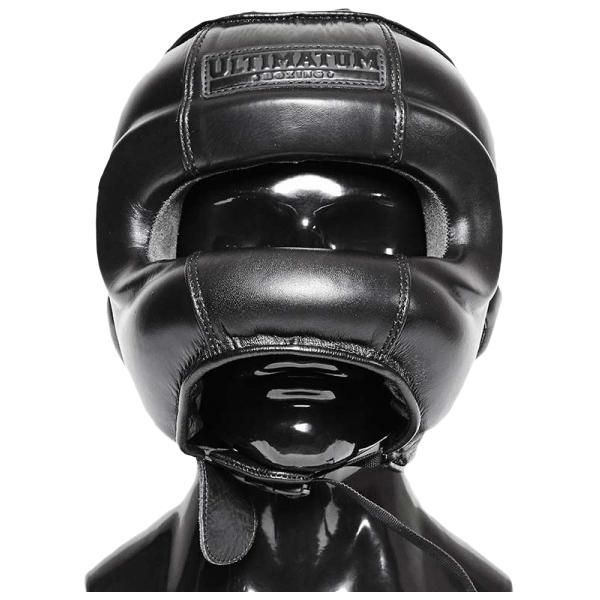 Боксерский шлем бамперный Ultimatum Boxing Gen3FaceBar Carbon