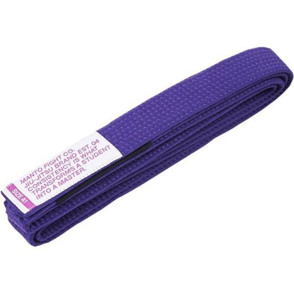 Пояс для кимоно БЖЖ Manto Motto - пурпурный