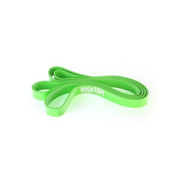Резиновая петля RockTape RockBand, 104см x 4.5мм x 1.2см, зеленая
