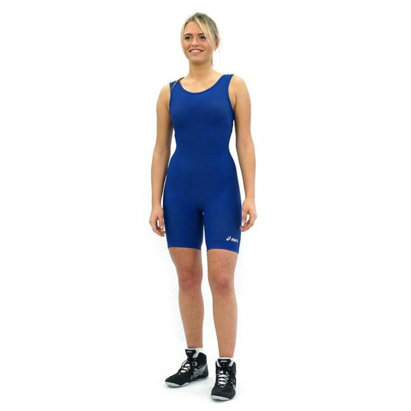 Трико борцовское ASICS JT857 0043 WOMEN'S SOLID MODIFIED SINGLET