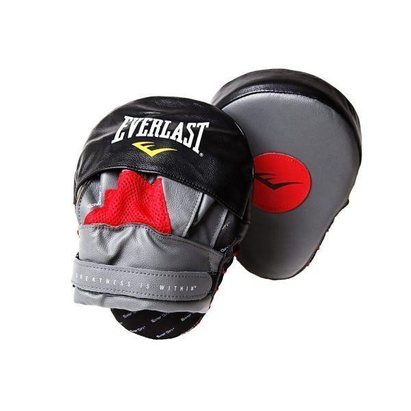 Лапы изогнутые Everlast Mantis Punch Mitts красн/черн.