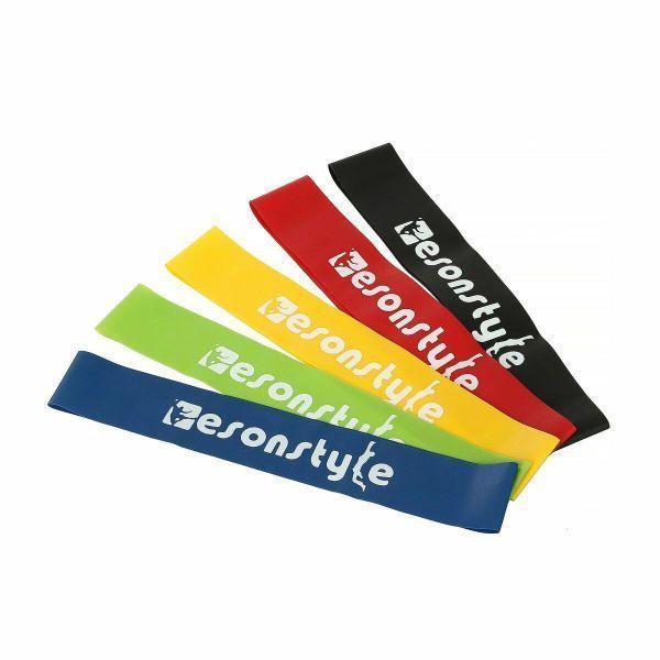 Резинки для фитнеса (mini bands) EsonStyle - набор 5 шт.