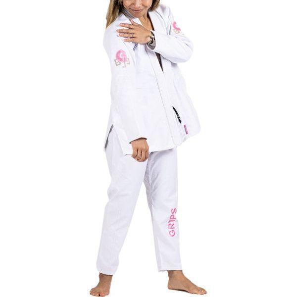 Женское кимоно (ги) для БЖЖ Gr1ps Leo Cor - белый