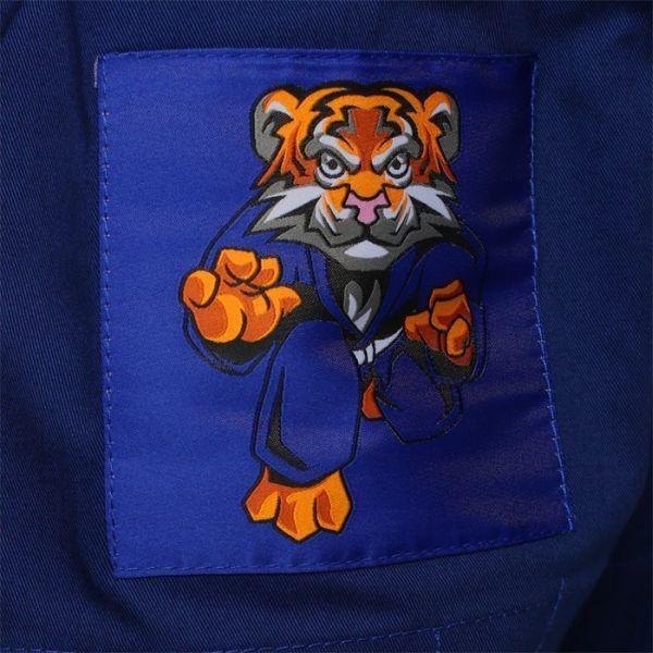 Детское кимоно (ги) для БЖЖ Jitsu Tiger - синий