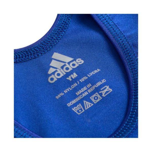 Трико борцовское Adidas Wrestling Solid Singlet синее