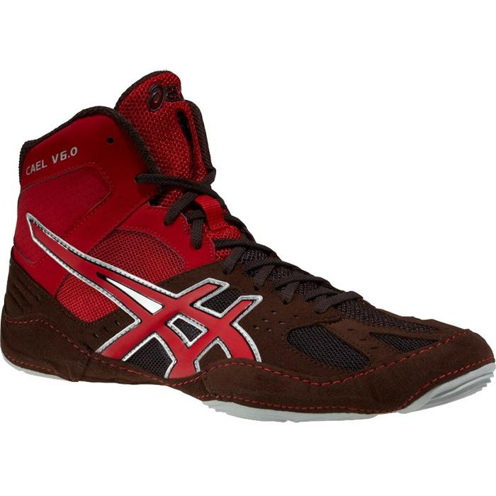 Борцовки Asics Cael V6.0 red - brown 00-00001743 купить в интернет ... 773801fcdaa