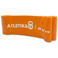 Оранжевая резиновая петля (36-91 кг), 83мм