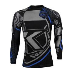 Рашгард Contract Killer long black - blue