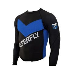 Рашгард Do Or Die Hyperfly long black - blue