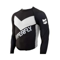 Рашгард Do Or Die Hyperfly long black - white