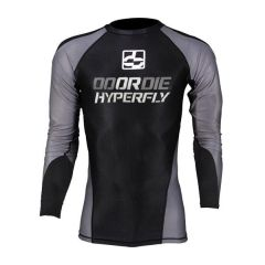Рашгард Do Or Die Hyperfly long gray - black