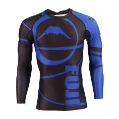 Рашгард Fuji Ibjjf Ranked black - blue