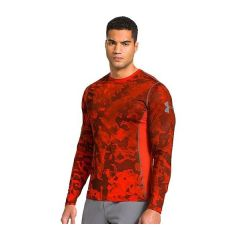 Рашгард Under Armour HeatGear Sonic red