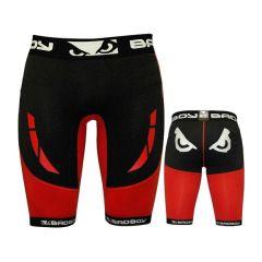 Компрессионные шорты Bad Boy Sphere black - red