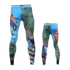Компрессионные штаны Meerkatsu Flying Peacock