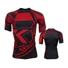 Рашгард Contract Killer black - red