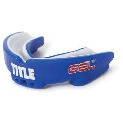 Капа боксерская Title Gel Intense-shox blue