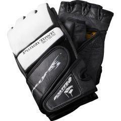 МMA перчатки PunchTown Tenebrae black - white thumb