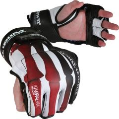 МMA перчатки PunchTown KARPAL eX TAT2 Crimson Fracture