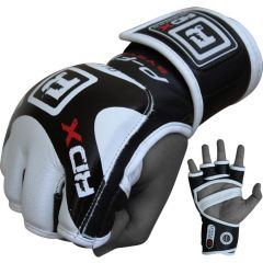 МMA перчатки RDX Gloves SXG Tz0 black - white