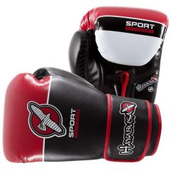Боксерские перчатки Hayabusa Sport Line black - red
