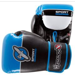 Боксерские перчатки Hayabusa Sport Line black - blue