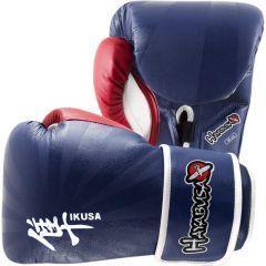 Боксерские перчатки Hayabusa Ikusa blue - red
