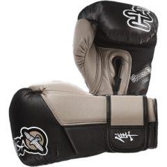 Боксерские перчатки Hayabusa Tokushu black - beige