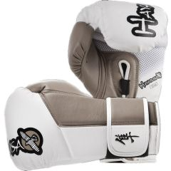 Боксерские перчатки Hayabusa Tokushu white - beige