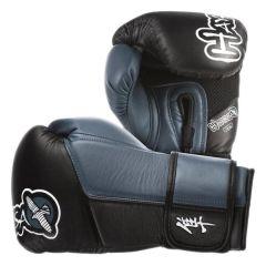Боксерские перчатки Hayabusa Tokushu black - blue