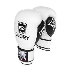 Боксерские перчатки Leone Glory white