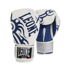Боксерские перчатки Leone Tribal white